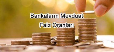 Bankaların Mevduat Faiz Oranları