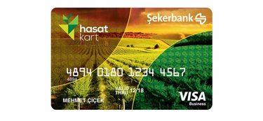 Çiftçiler için Şekerbank Hasat Kart
