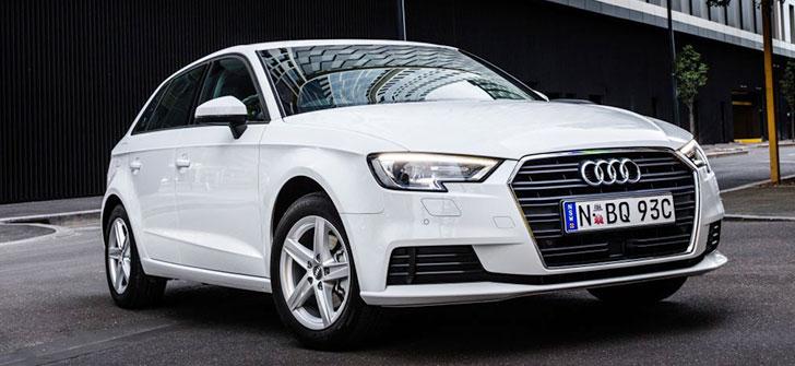 Audi A3 bayan arabaları